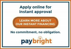 Apply online for instant approval banner for Paybright
